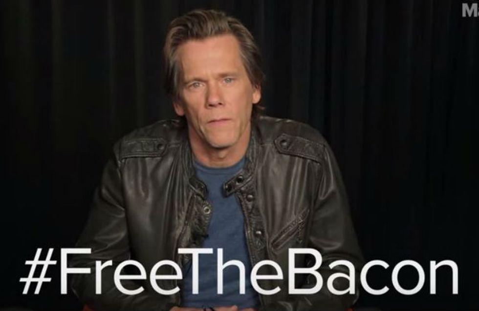 Libere o bacon: Kevin Bacon faz campanha e pede por mais nudez masculina em Hollywood
