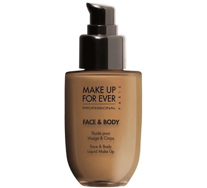 Face & Body maquillaje líquido, Make Up For Ever, 36€