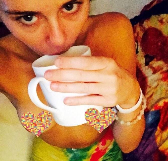 Miley Cyrus sur Instagram.