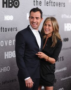 Justin Theroux et Jennifer Aniston.