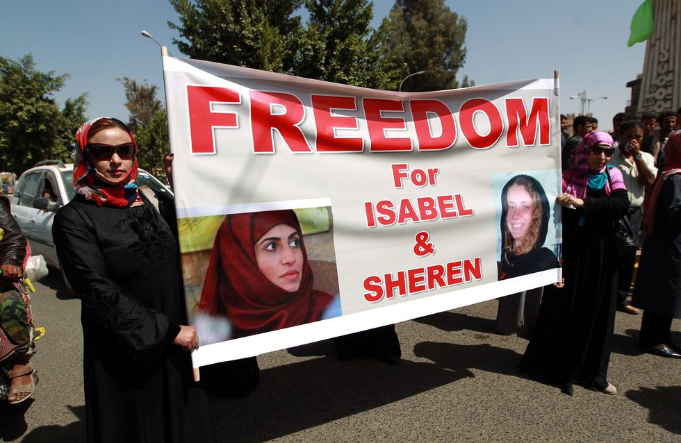 Isabelle Prime, otage française au Yémen libérée