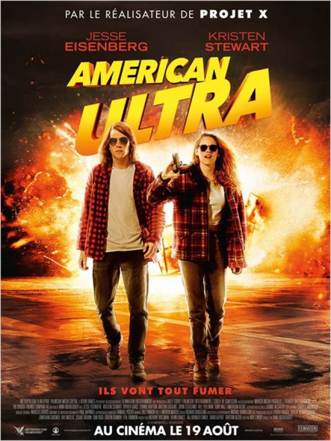 Kristen Stewart et Jesse Eisenberg dans American Ultra