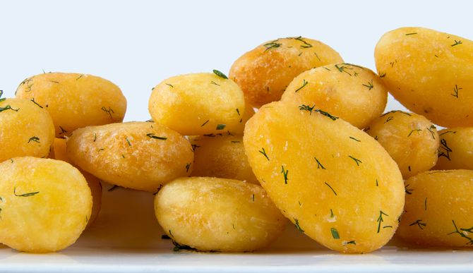 Patatas asadas como acompañamiento
