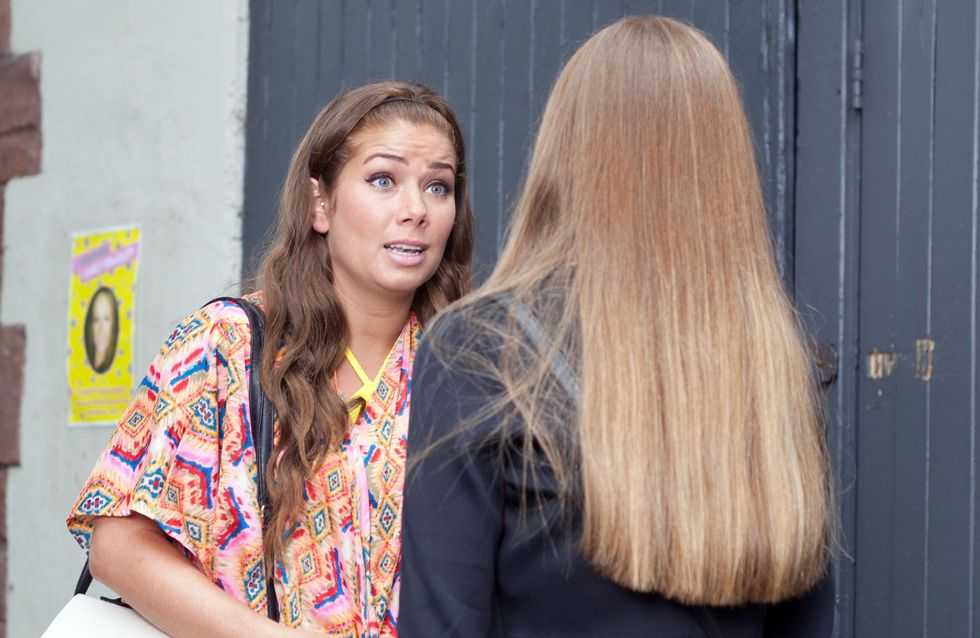 Hollyoaks 19/08 - Mercedes persuades Joe to move back home
