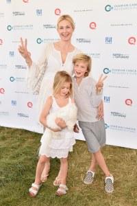 Kelly Rutherford et ses enfants Hermes et Helena