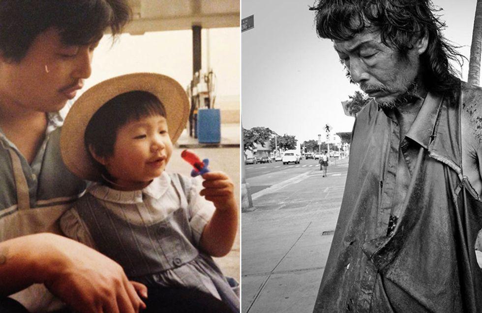 Sie fotografiert Obdachlose - bis sie unter ihnen plötzlich ihren vermissten Vater findet