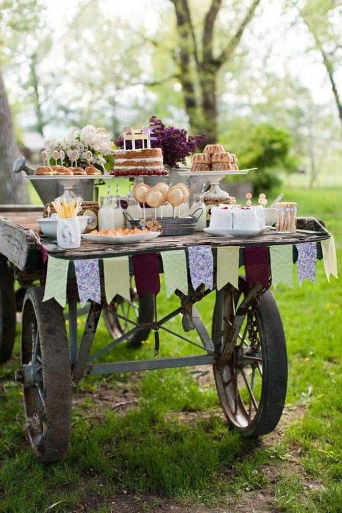 Un wagon de friandises