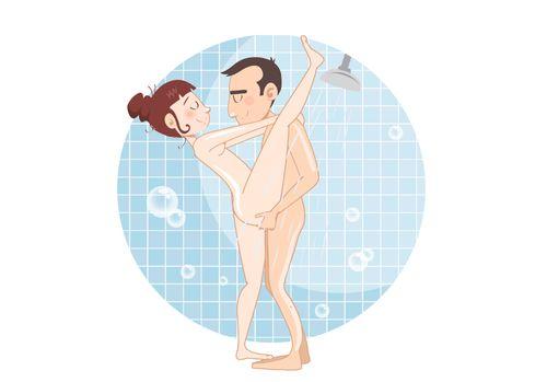 Sexstellungen In Der Dusche