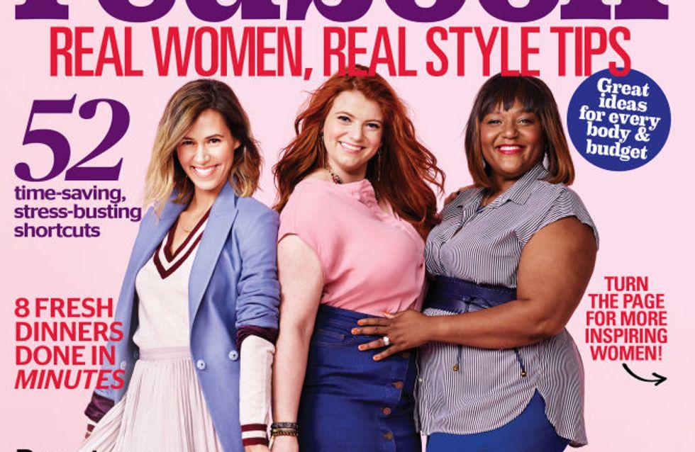 Le magazine Redbook choisit de vraies femmes pour sa couv' de septembre