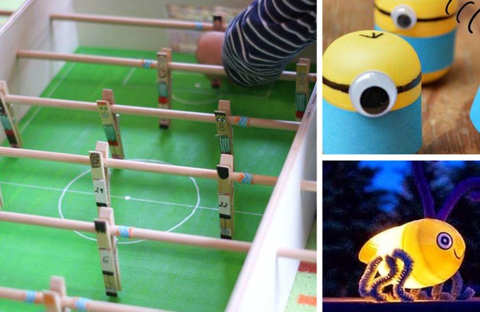 ¡Adiós al aburrimiento! 5 ideas DIY para hacer junto con tus hijos