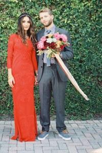 Colourful Wedding Dresses