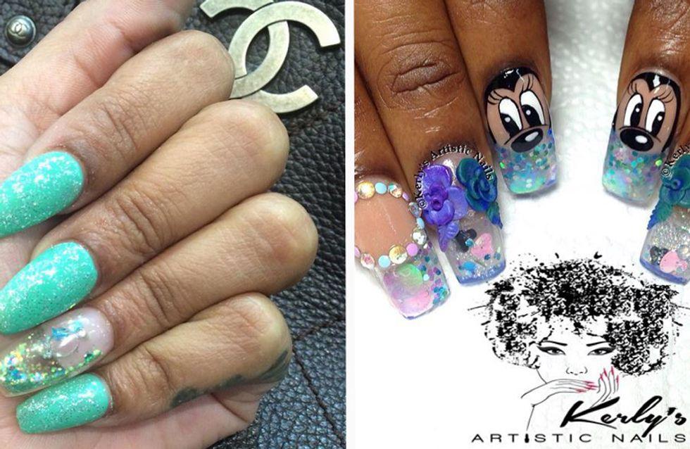 Wasser in den Fingernägeln?! Aquarium-Nails sind DER neue Beauty-Trend im Netz