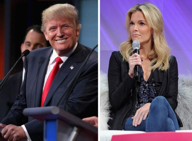 Donald Trump et Megyn Kelly