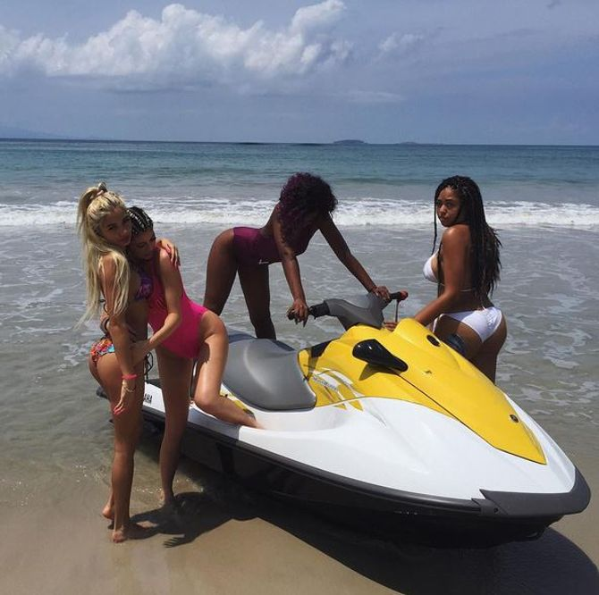 Kylie Jenner et ses amies