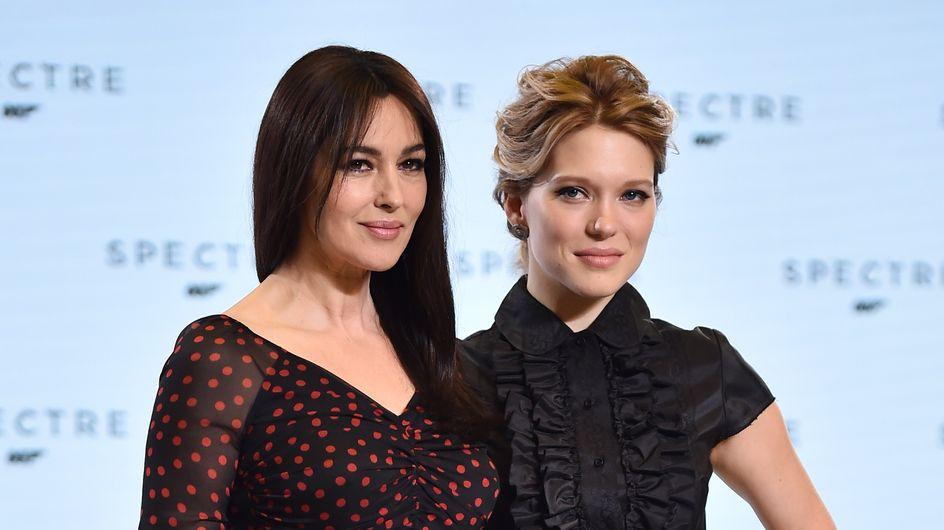 Monica Bellucci et Léa Seydoux se confient sur leur rôle de James Bond girls (Vidéo)