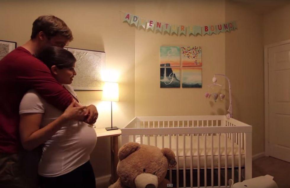 Schwangerschaft im Zeitraffer: So sieht es aus, wenn sich ein Paar auf das erste Baby vorbereitet