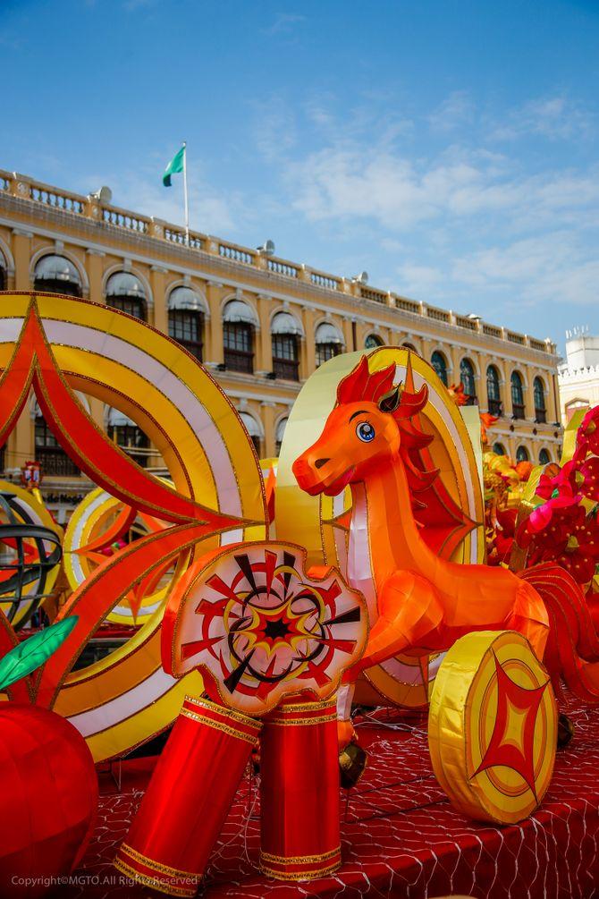 Cette année, je fête le Nouvel an chinois à Macao