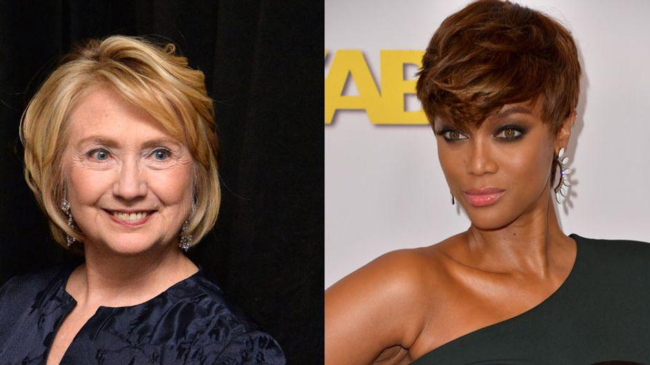 Tyra Banks et Hillary Clinton décomplexées pour parler de cellulite