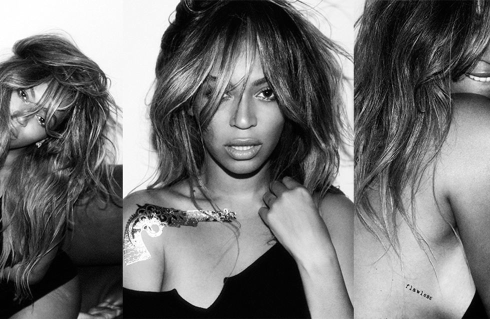 Beyoncé Releases Temporary Flash Tattoos & Obviously They're Flawless