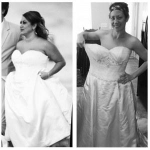 Kristin vorher und nachher