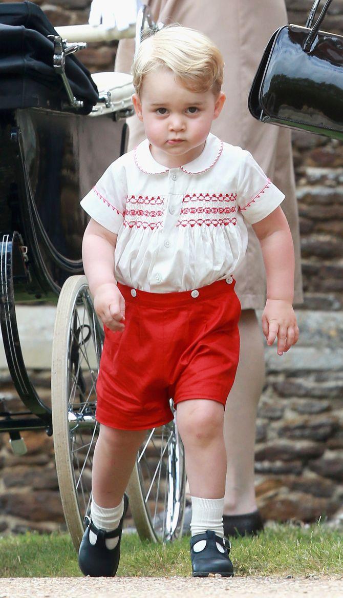 Le prince George.