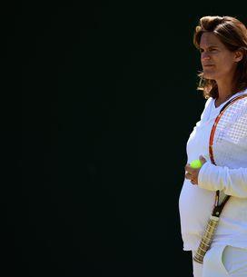 Amélie Mauresmo maman pour la première fois