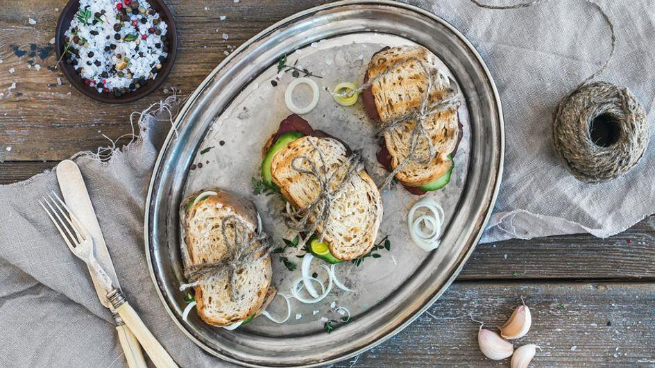 ¡Pan con pan! 10 ideas de bocadillos saludables y deliciosos para mantener la línea