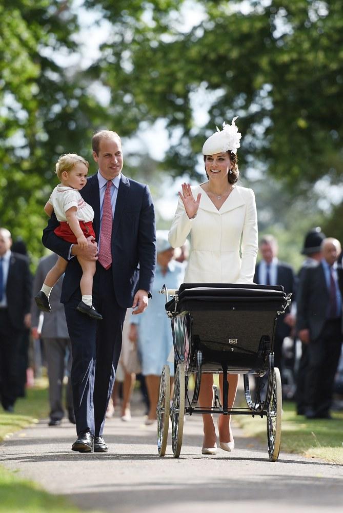 Kate, William et leurs enfants