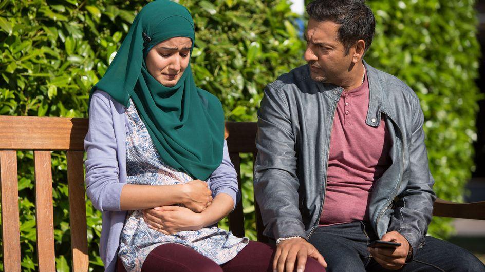 Eastenders 28/08 - Shabham receives devastating news