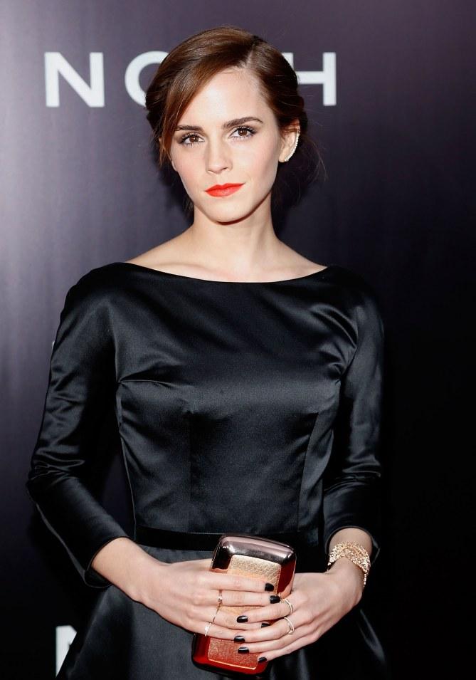 Emma Watson en beauté.
