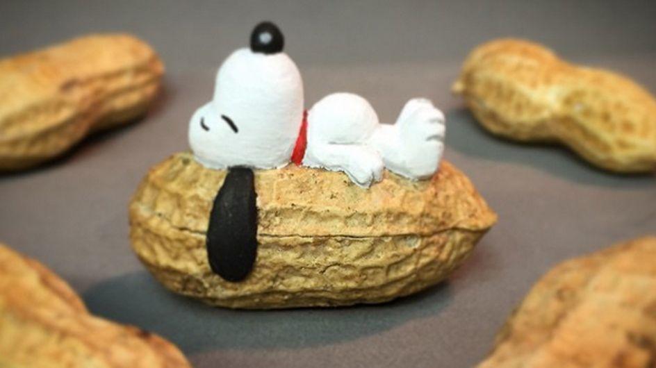 ¿Qué se esconde detrás de un cacahuete? ¡Descubre estas geniales esculturas hechas con él!