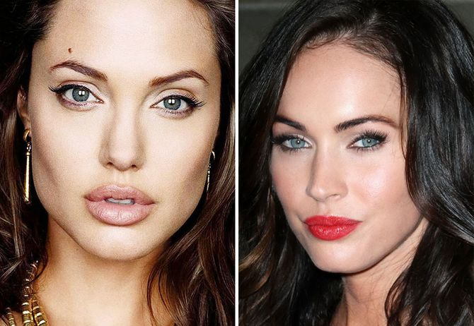 Angelina Jolie y Megan Fox