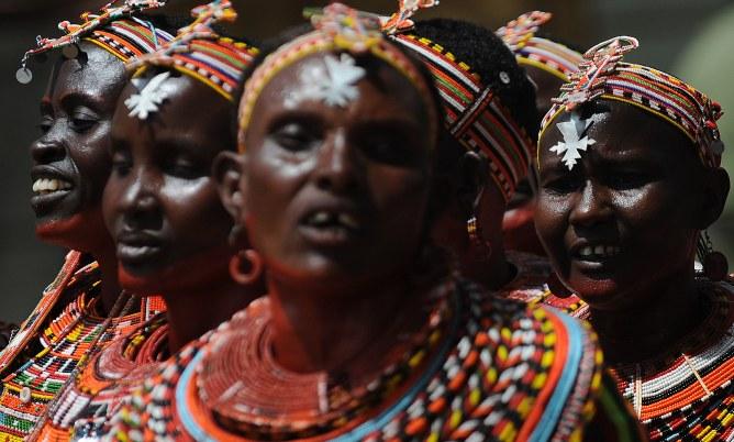 Des femmes kenyanes.