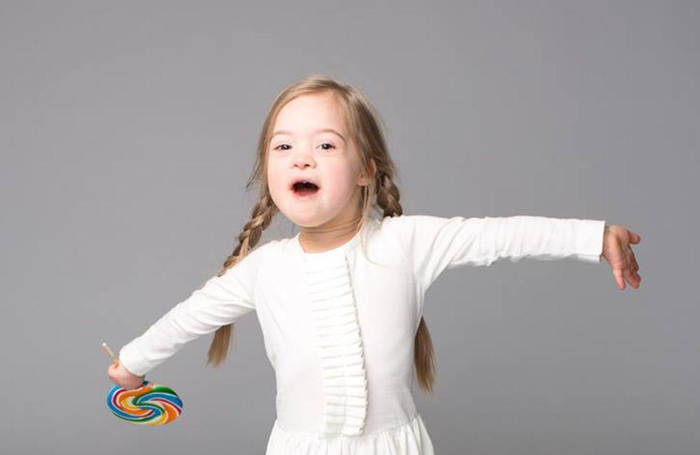 Cette fillette trisomique prouve que tous les enfants ont le droit à leur rentrée des classes (Photos)