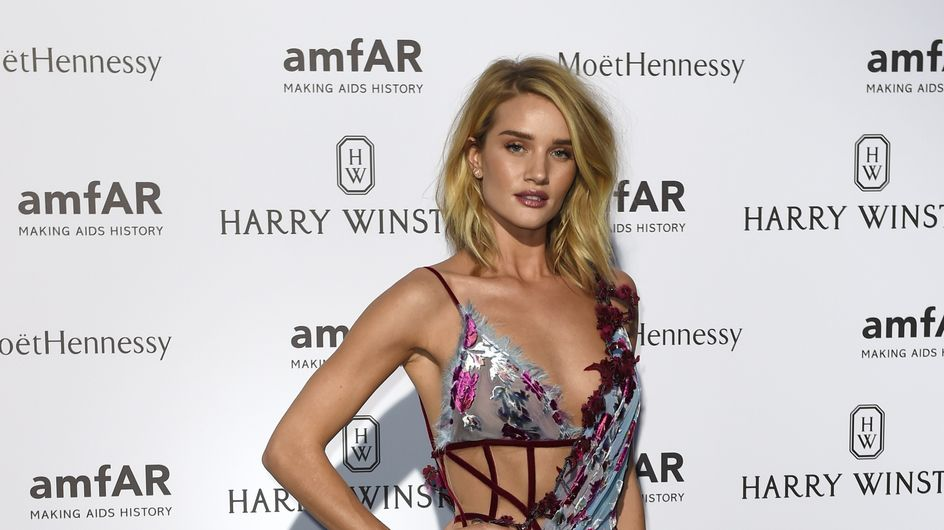Rosie Huntington-Whiteley se dévoile sans maquillage (Photo)