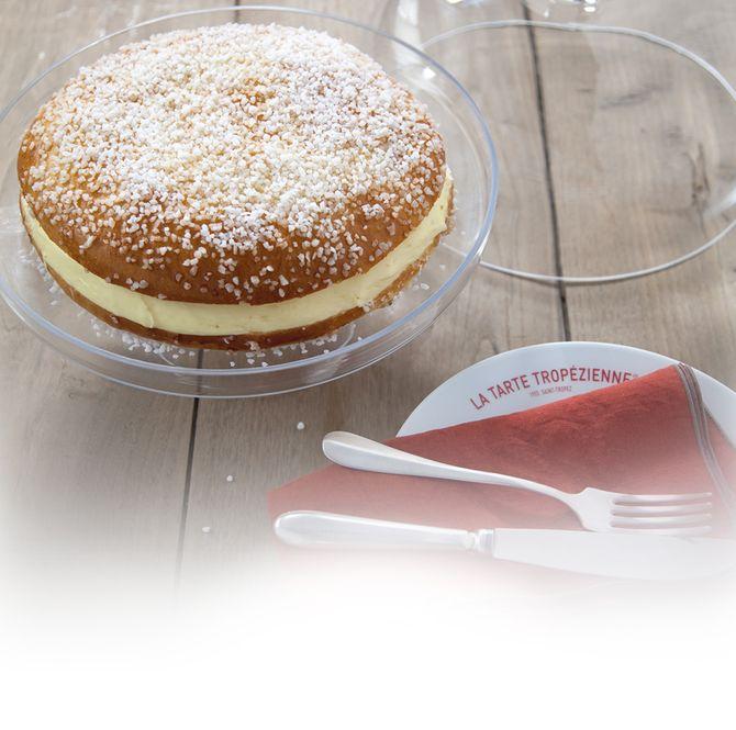 Quelle que soit sa taille, on adore la tarte tropézienne !