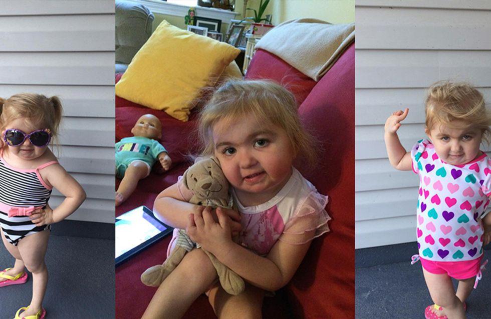 Menina com síndrome rara no sangue arrasa na Zumba