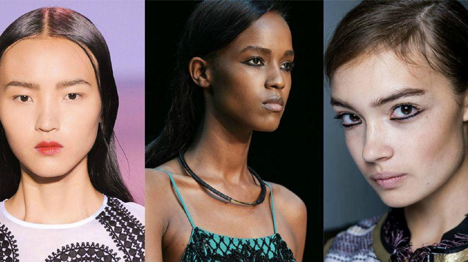 As tendências internacionais de maquiagem mais quentes para a primavera/verão