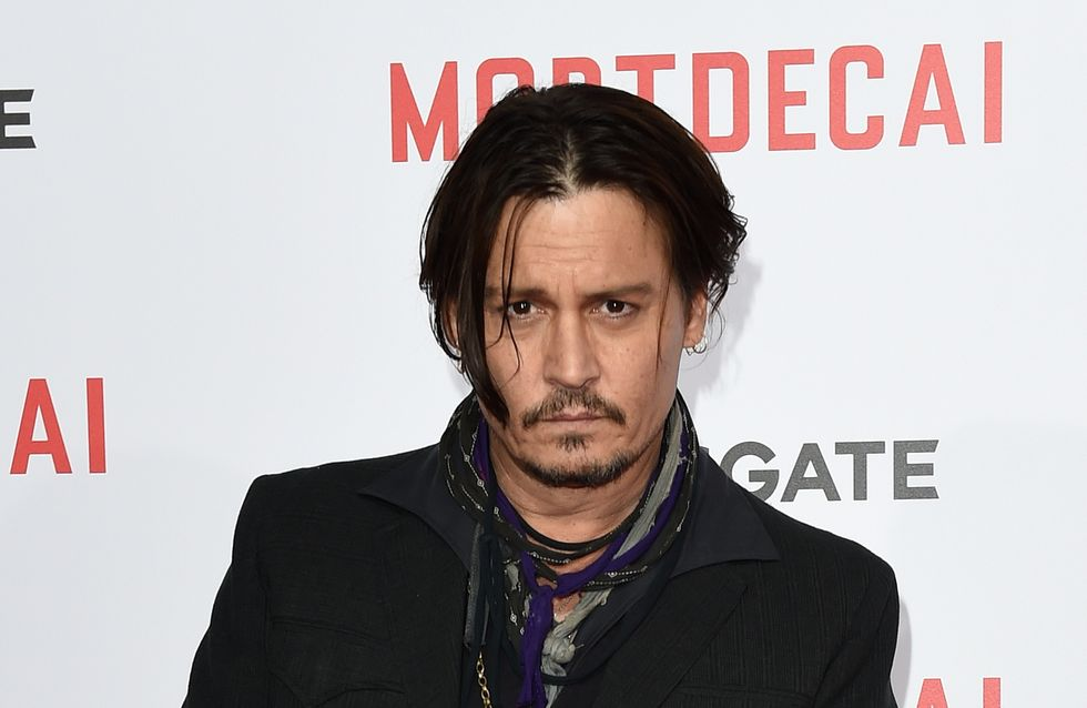 Johnny Depp montre son côté sauvage pour Dior (Photo)