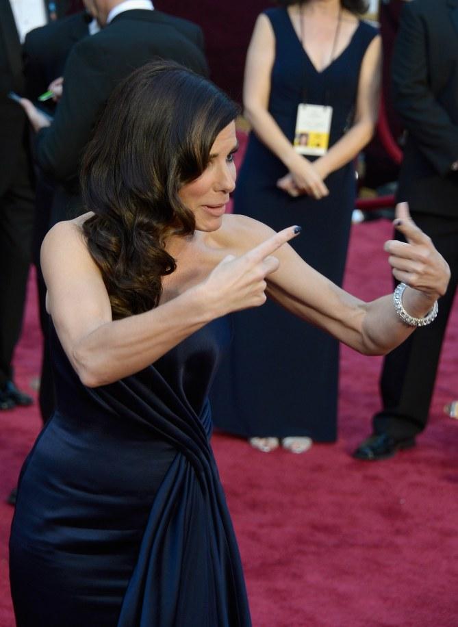 Sandra Bullock assure