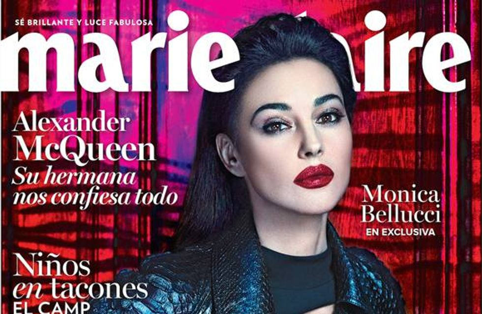 Monica Bellucci sexy à 50 ans en couverture de Marie Claire (Photo)