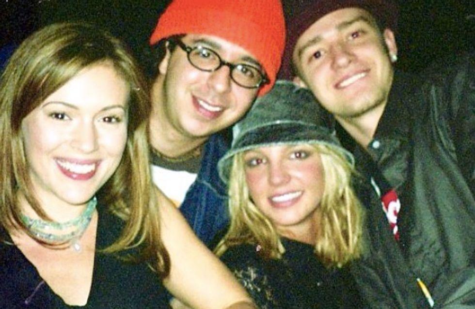 Alyssa Milano : Sa photo throwback avec Justin Timberlake et Britney Spears en couple !