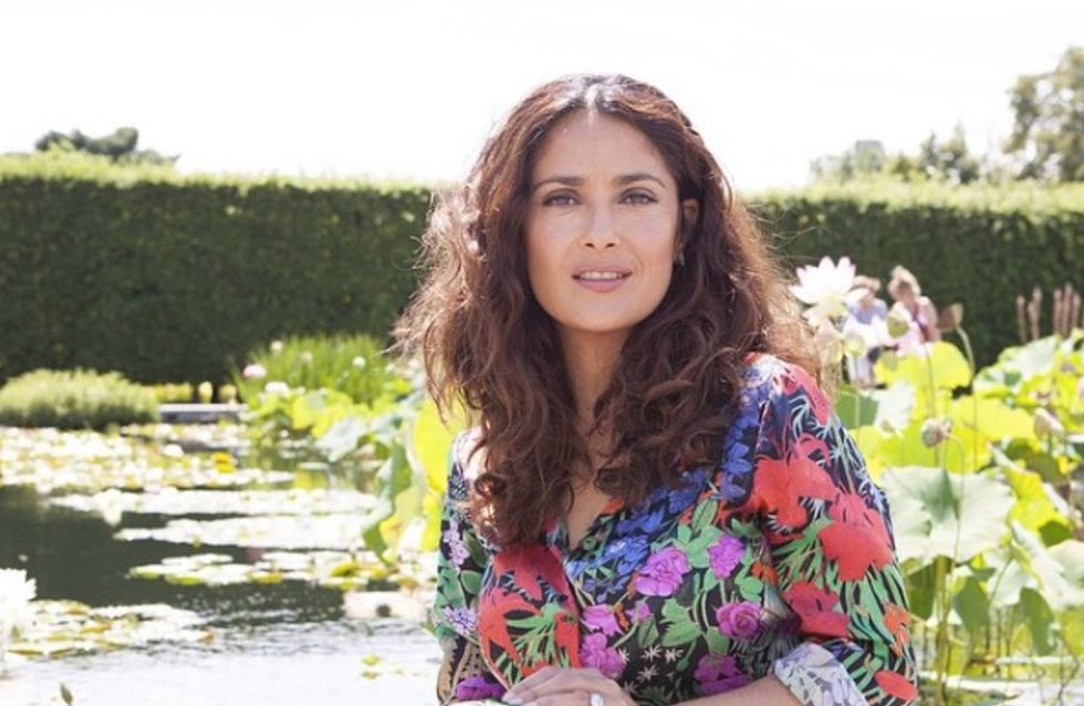Salma Hayek en bikini en vacances à Hawaï (Photo)