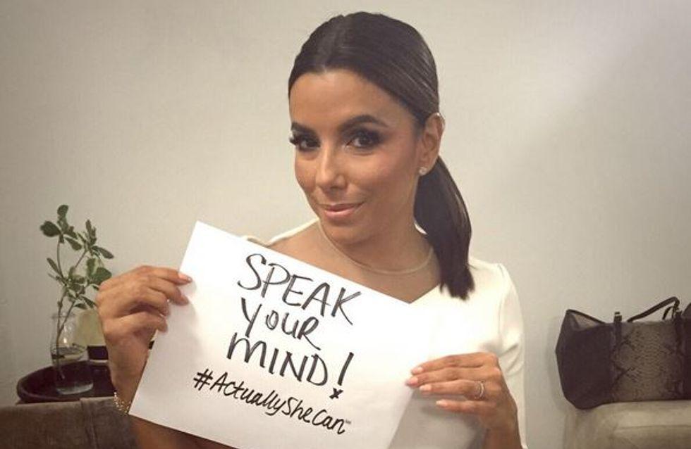 #ActuallySheCan, la campagne valorisant les femmes qui mobilise les stars (Photos)