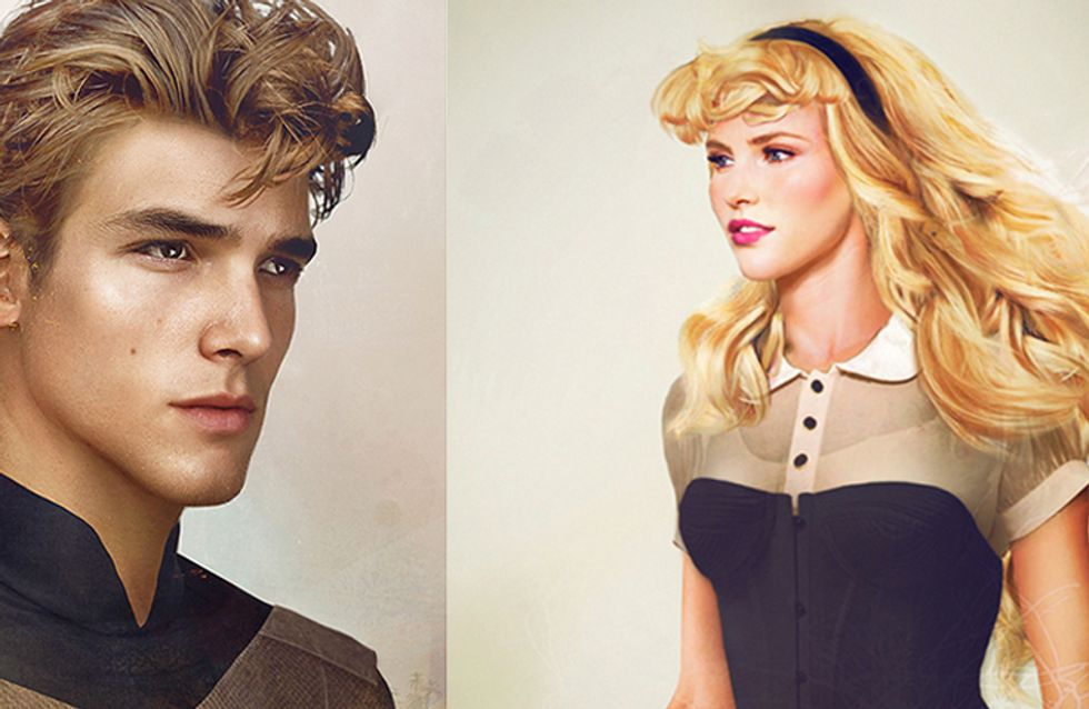 What Disney Characters Would Look Like In Real Life