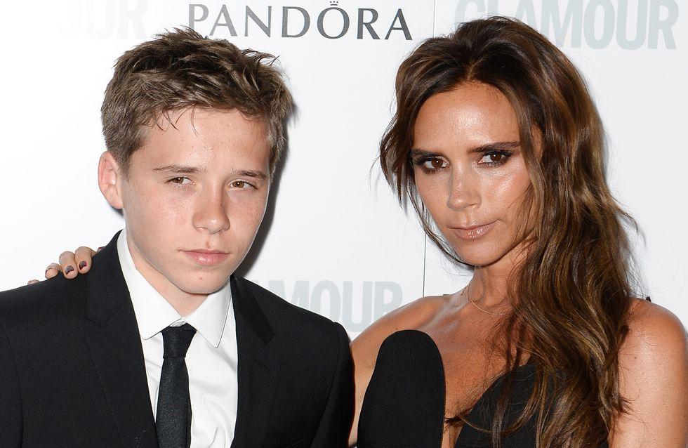 Victoria Beckham fière de son fils Brooklyn et de son diplôme