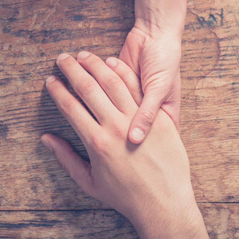 Picor en las manos estres