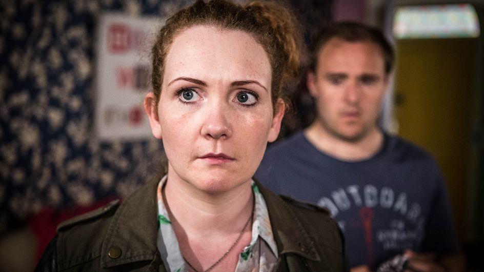Coronation Street 3/09 - Tyrone and Fiz face every parent's work nightmare