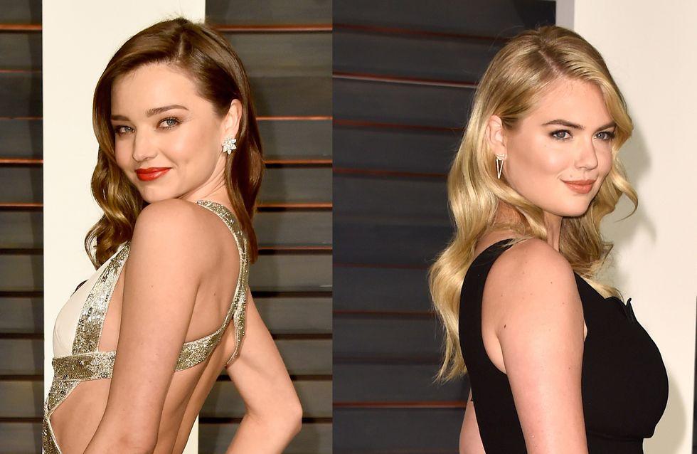 Kate Upton et Miranda Kerr topless en résille pour V Magazine (Photos)