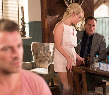 Hollyoaks 4/09 - Nico is furious when Kyle defaces a memorial